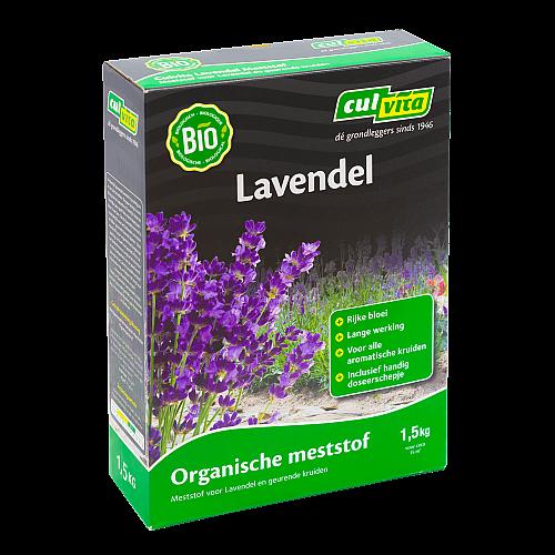 Lavendel meststof 1500g Culvita BIO