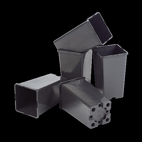 Kweekpot vierkant 12x12 cm (5x)