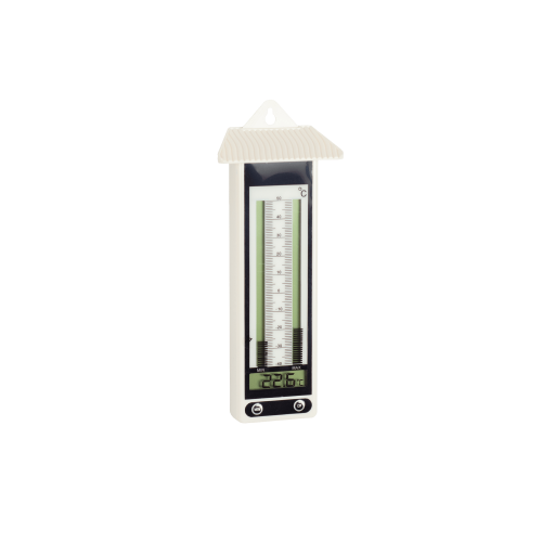 Thermometer (min/max) wit hoog