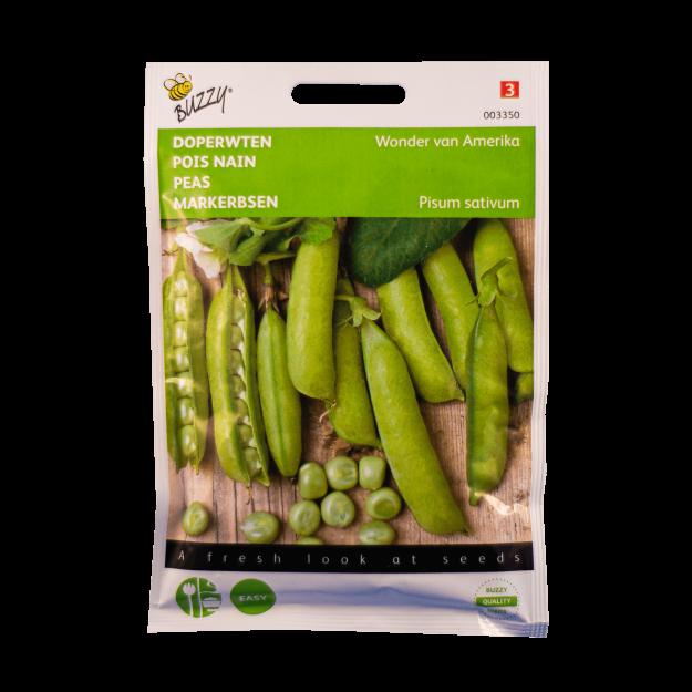 Doperwten (Wonder van Amerika) Buzzy Seeds