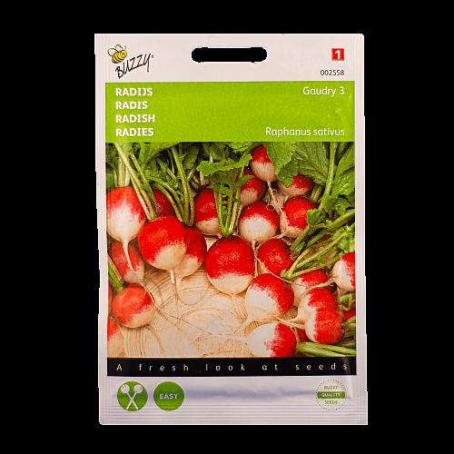 Radijs (Goudry 3) Buzzy Seeds