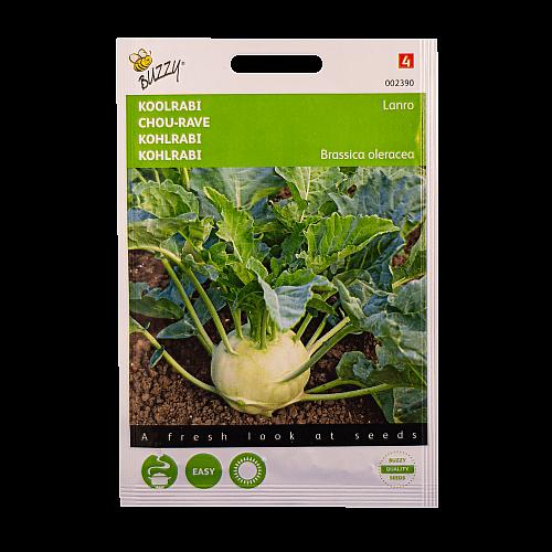 Koolrabi (Lanro) Buzzy Seeds