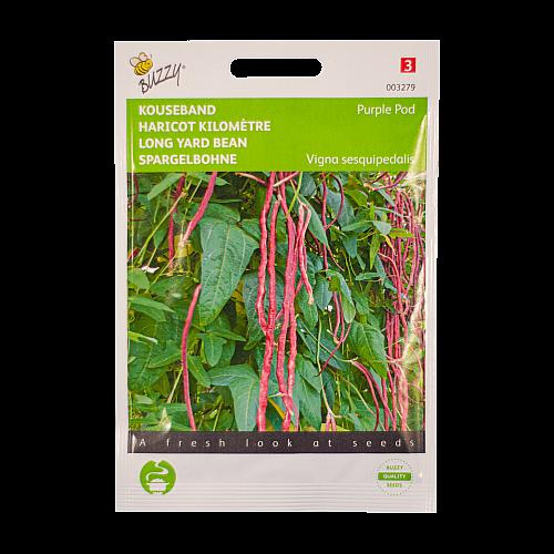 Kousenband (Paarse / Vigna sesquipedalis) Buzzy Seeds