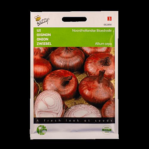 Uien (Noord-Hollandse Bloedrode) Buzzy Seeds