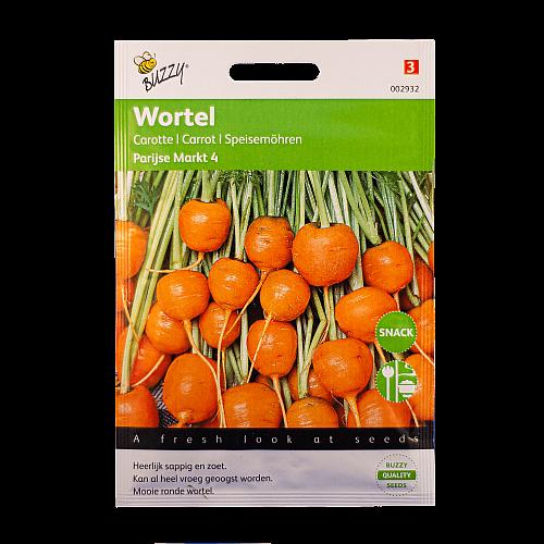Wortel (Parijse Markt 4) Buzzy Seeds