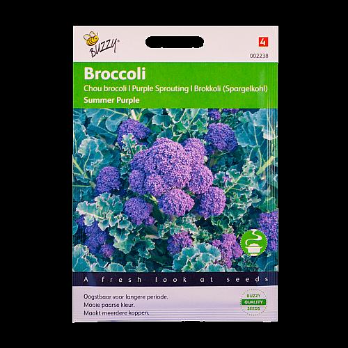 Broccoli (Summer Purple) Buzzy Seeds