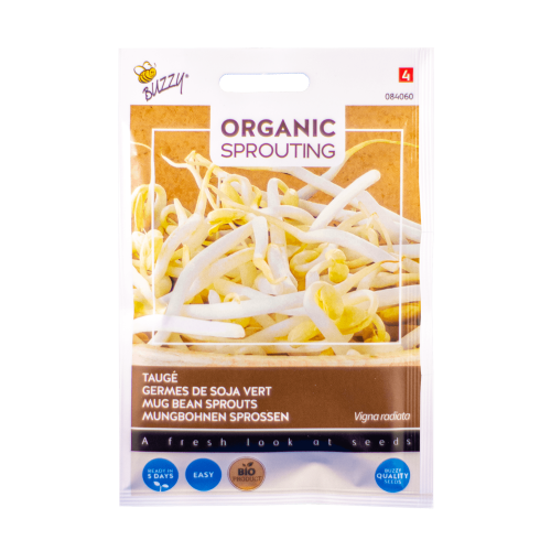 Taugé (Vigna radiata) Buzzy Organic Sprouting BIO