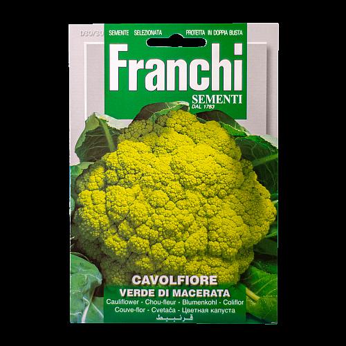 Bloemkool (Groene / Verde de Macerata) Franchi Sementi