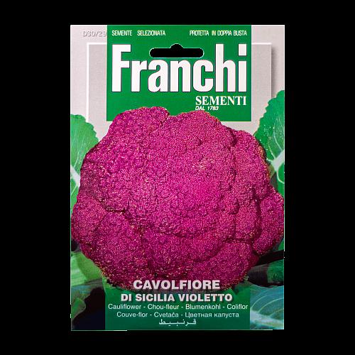 Bloemkool (Paarse / Di Sicilia Violetto) Franchi Sementi