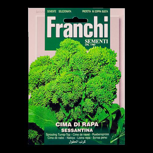 Broccoletto (Cima di Rapa Sessantina) Franchi Sementi