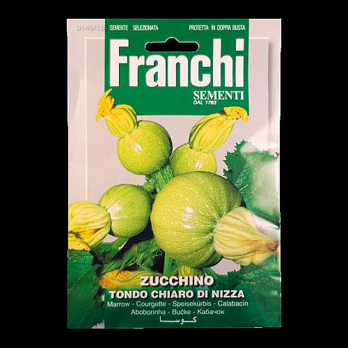 Courgette (Tondo Chiaro di Nizza) Franchi Sementi