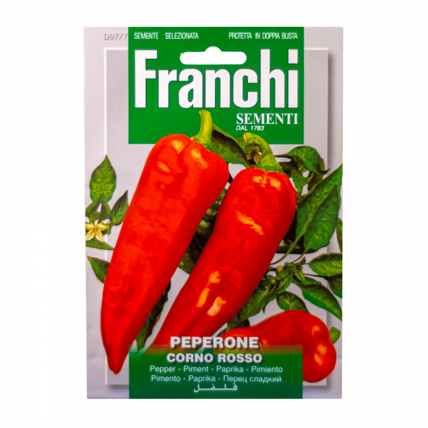 Paprika (Corno Rosso) Franchi Sementi