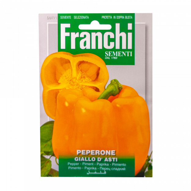 Paprika (Giallo d' Asti) Franchi Sementi